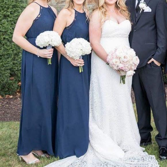 b3d00c3e5c8b Bill Levkoff Dresses | Navy Bridesmaid Dress | Poshmark
